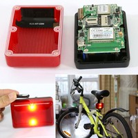 Real-time radio shack gps car tracker Bike GPS location tracking system