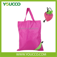 Cute fruit shaped folding shopping bag packaging bag for promotion