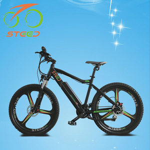 wholesale 26 inch full suspension mountain bicycle lithium battery power supply electric bike
