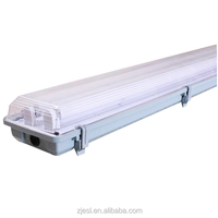 Waterproof ip65 led explosion proof fluorescent linear light fitting tri-proof tube lamp housing