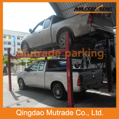 Hydraulic Motor 4 Column mobile lift Parking Lift