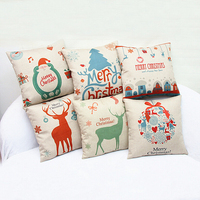 Square Throw Pillow Christmas Decorative cushion cover