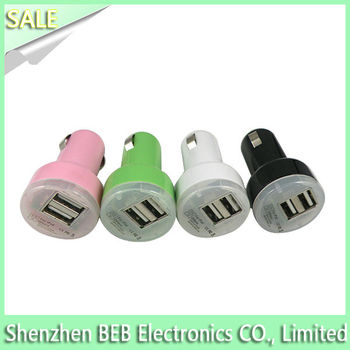 5V 2100MA car charger for samsung blackberry has low cost