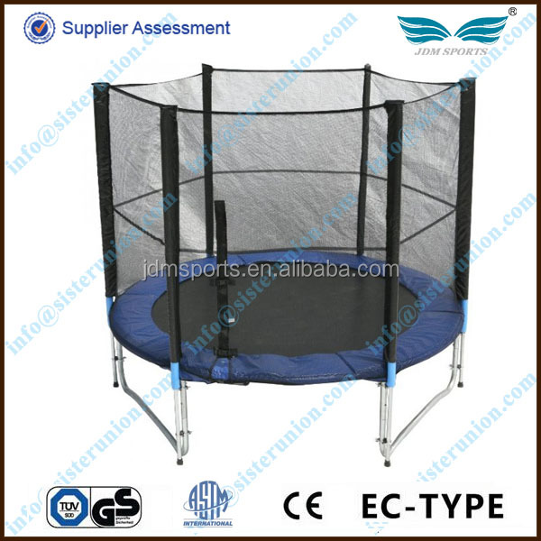 JDM 2014 hot selling cheap fitness equipment outdoor jumping trampoline/high quality trampoline cloth