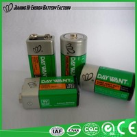 High Performance Efficient Energy Dry Battery 6F22 9V Heavy Duty Battery