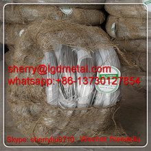 UAE galvanized binding wire /largest galvanized wire factory---GWSL340