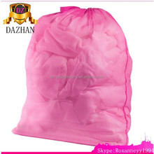 Durable Pink Mesh Laundry Bag