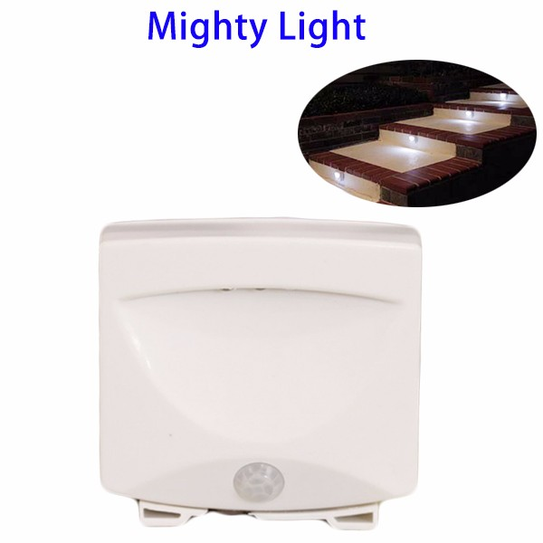 Wholesale 3 Bulbs Plastic Motion Sensor LED Stair Mighty Night Light