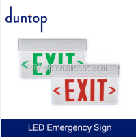 Supply LED Exit Emergency Sign with Promotion Price
