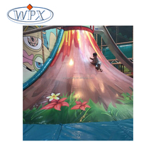 Cheap children amusement indoor plastic volcano climbing playground equipment price