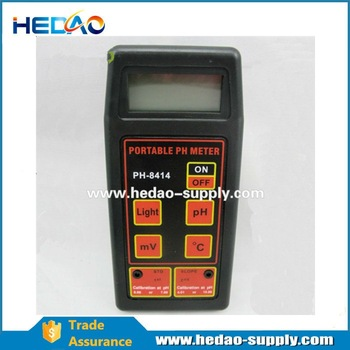 High Precision Glass Electrode PH Meter