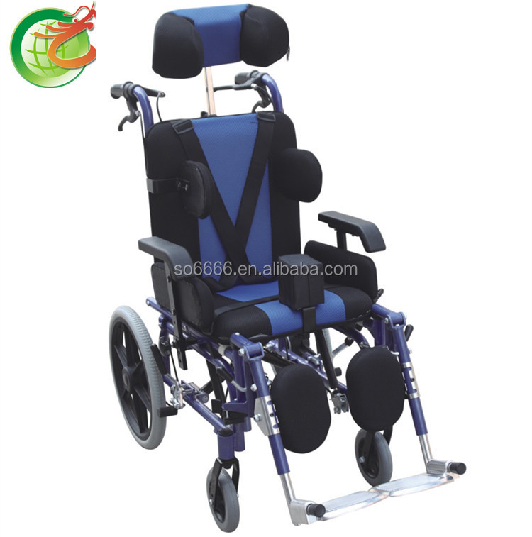 Reclining/Cerebral Palsy wheelchair/Disabled chairs for cerebral palsy children