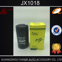 2016 New Filters diesel oil filter JX1018 for excavator generator Facotry wholesale