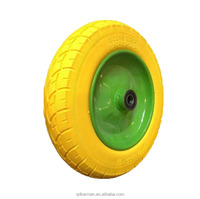 China wholesale 3.00-8 PU foam wheels and 13 inch types for wheelbarrow