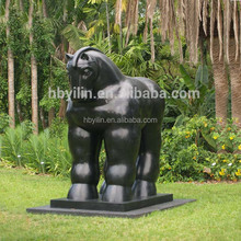 Large Size garden/city decor metal crafts fernando botero sculpture reproductions