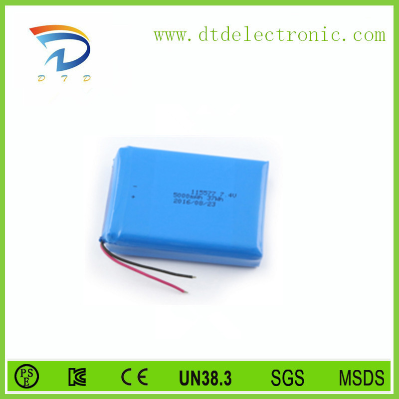 small 3.7v 500mah lipo battery lithium polymer rechargeable battery for rc car, power tool