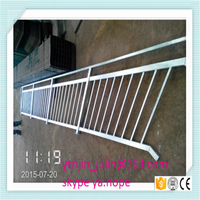 hot dip galvanized square steel pipe stair handrail