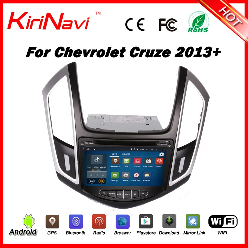 Kirinavi WC-CC8057 android 5.1 car multimedia for chevrolet cruze 2013 - 2016 car gps navigation system radio car audio wifi 3g
