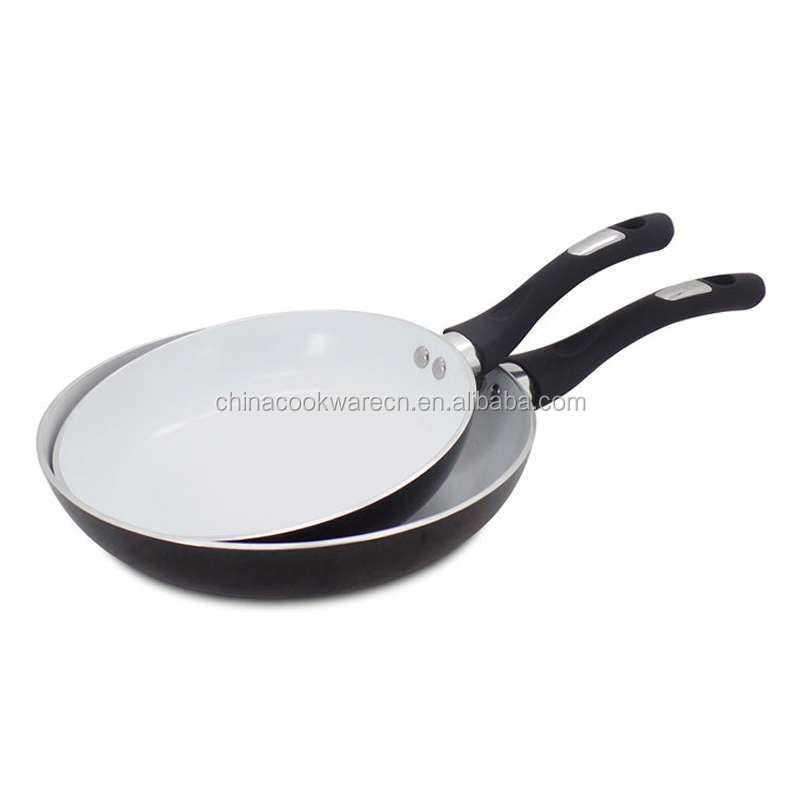 Aluminum induction bottom fry pan without lid as seen on tv