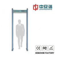 200 level Walk Through Metal Detector with 3D Infrared Low radiation