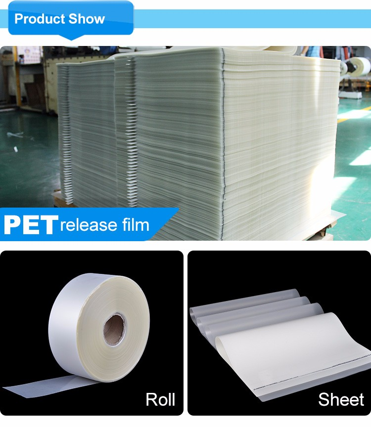 Kenteer pet lamineren roll film/zeefdruk film