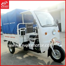 Semi Cabin Passenger Tricycle with roof/Three Wheel Motorcycle made in China KV150ZH-K