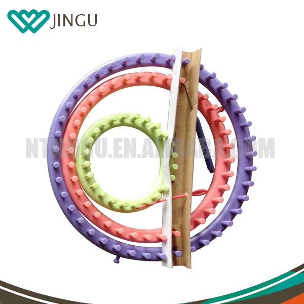Round Knitting Loom Set Italiano : Quality diy scarf shawl hat yarn knitter knifty knit long