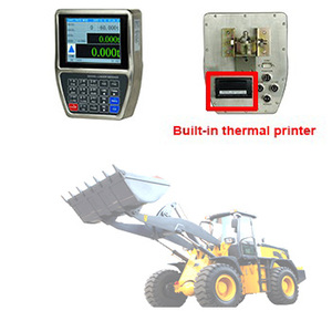 High Stability Shovel Loader Indicator Controller With 20 Key English Keypa,On Board Weighing Systems For Loaders with printer