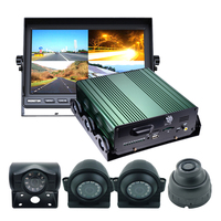 Factory direct 4ch 3g 4g wifi school bus cctv system with gps for bus truck