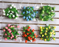 easter decoration 3*4cm eggs rattan 2016