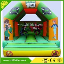 Popular kids mini inflatable bouncy jumping houses, inflatable castle
