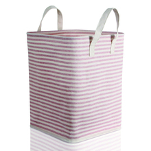 Foldable Laundry Hamper Baskets with Handles for Kid's Room, Toy Storage Basket and Organizer Bins for Child