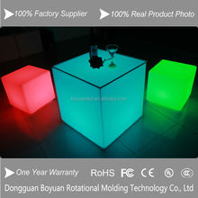 Hot sales led cube chair/led cube table