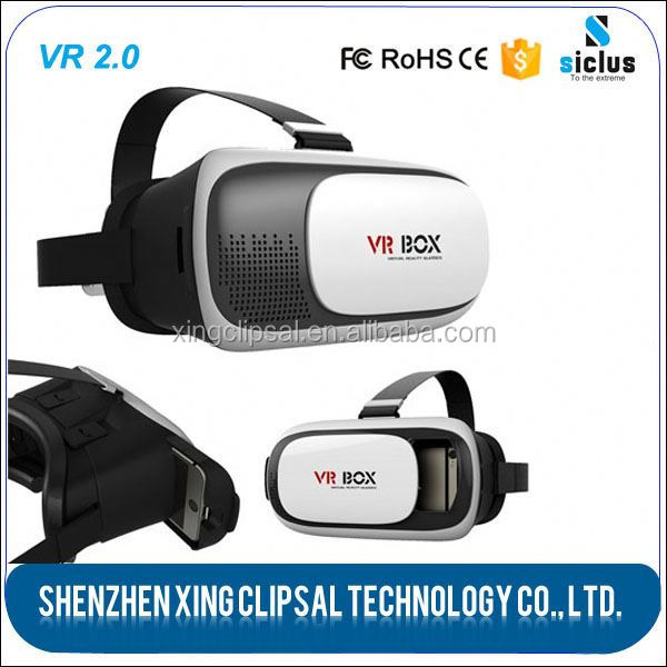 3d Glasses Vr Box 2.0, 2 Virtual Reality 3d Glasses, 3d Glasses For Sexy Movie