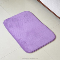 40*60cm bath coral velvet bedroom kitchen carpet,absorbent bath mat