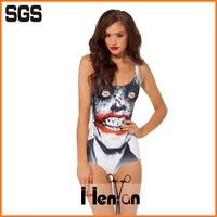 wholesale custom print one piece swimsuit, soft xxxxl sex girl