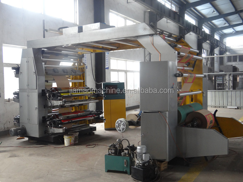 multicolor roll to roll Toilet paper flexographic printing machine