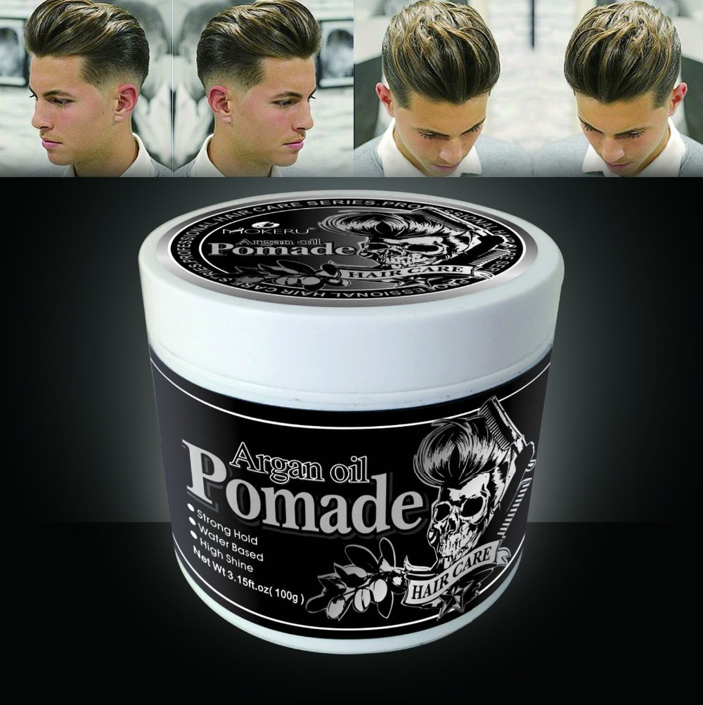Wholesale professional water based strong hold oem hair edge control private label hair pomade for men