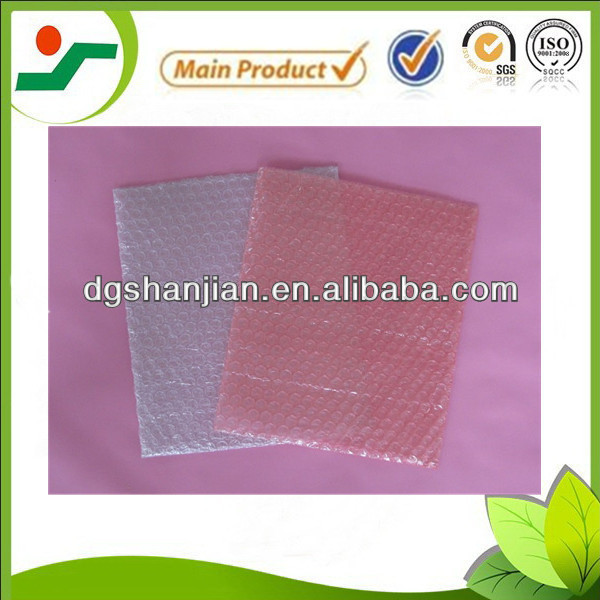 Transparent small bubbles bubble bag