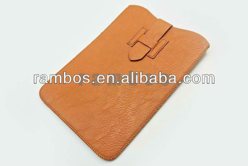 Soft Leather Flip Pouch Sleeve Bag Case cover for iPad mini 7.9
