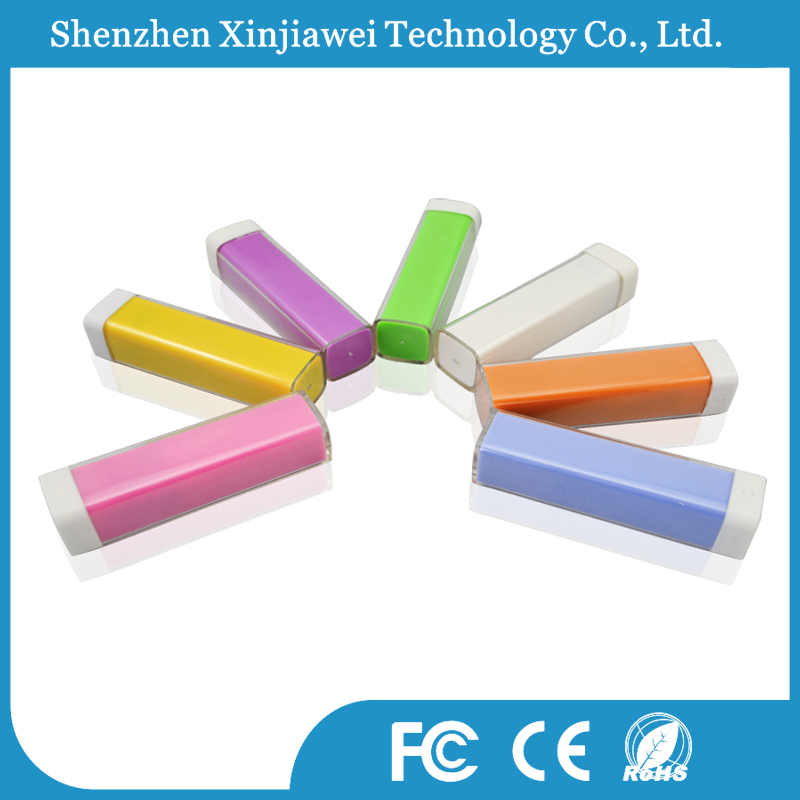 DC 5V/1A portable power bank new model 2200mah power bank mini travel charger colorful OEM ODM