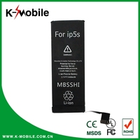 Wholesale Original Battery for iPhone 5S Battery Replaceable for iPhone 4 4S 5 5S Battery