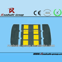 Production yellow black traffic calming measures