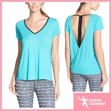 girls top design/thin cotton /latest tops for girls