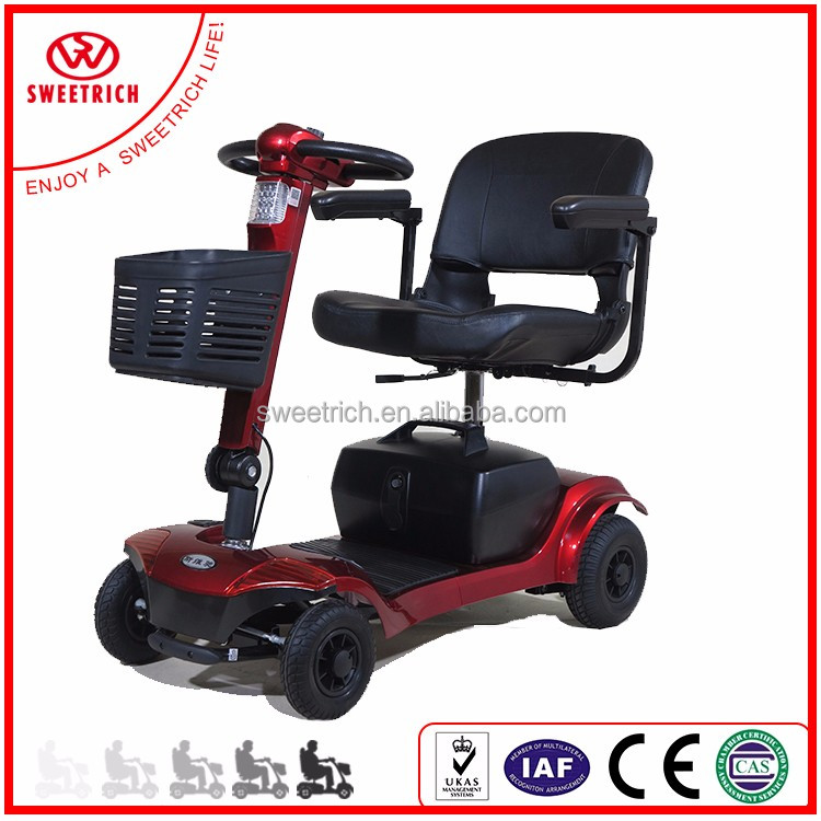 Easy to operate portable mobiliy scooter