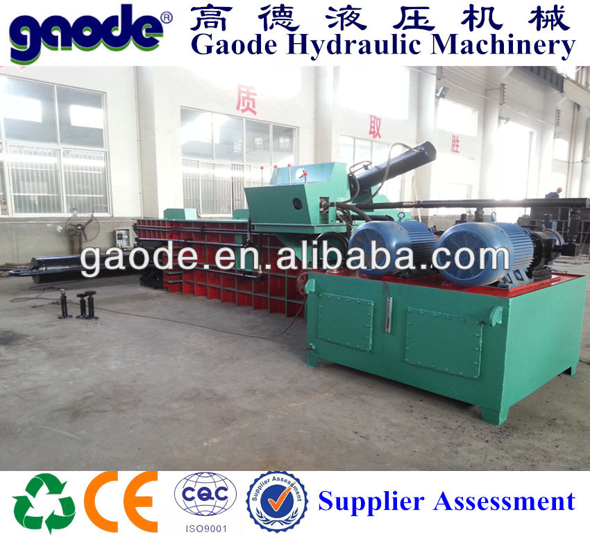Recycling Hydraulic Used Scrap Metal Baler for sale