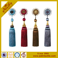 flower making rayon decorative tassel