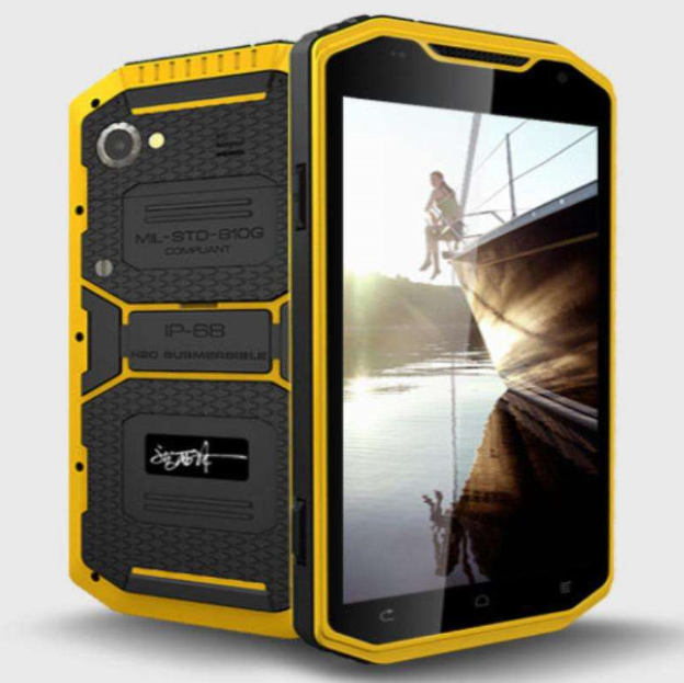 New Product Military Quad Core 2GB+16GB 6.0inch IPS screen MTK a8 android 4.2 ip68 rugged mobile phone