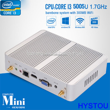 Wholesale NUC Mini PC max 8 GB RAM intel Core i3 5005U with Mini PC 4K Graphics Samsung RAM VGA Port PCI slot