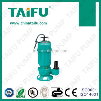 TAIFU CE certificated pump prices, sewage pump, 5hp pump submersible pump